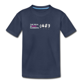 The Real Whole Numbers  - Kids' Premium Math T-Shirt - navy