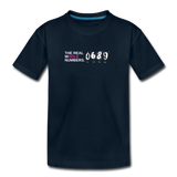 The Real Whole Numbers  - Kids' Premium Math T-Shirt - deep navy