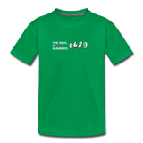 The Real Whole Numbers  - Kids' Premium Math T-Shirt - kelly green