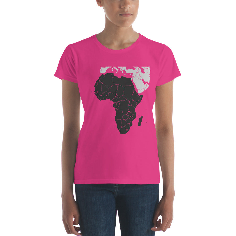 ML-Women's short sleeve t-shirt - Galliard Road