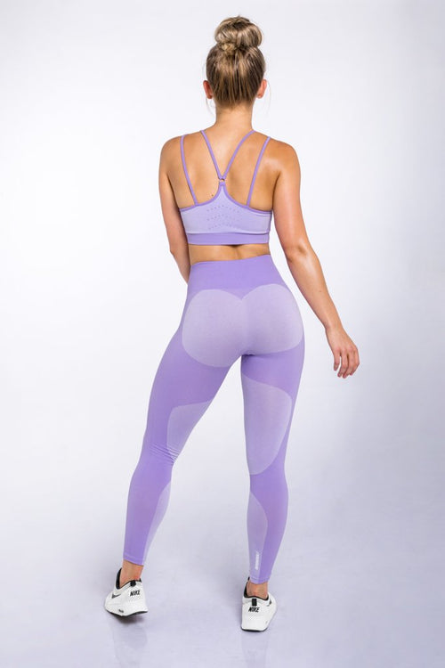 DYE Seamless Leggings - Lavender