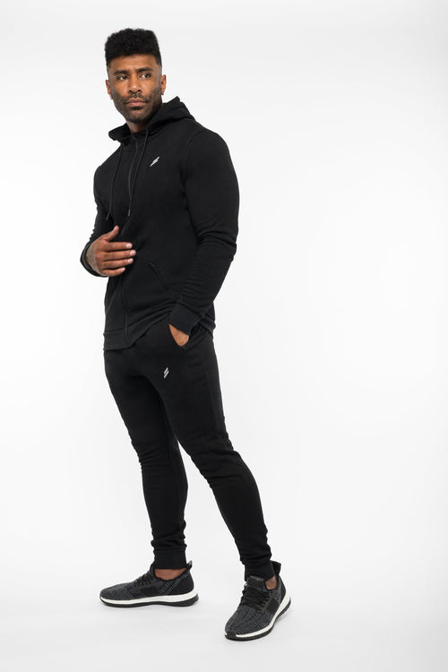Base Hoodie - Midnight Black