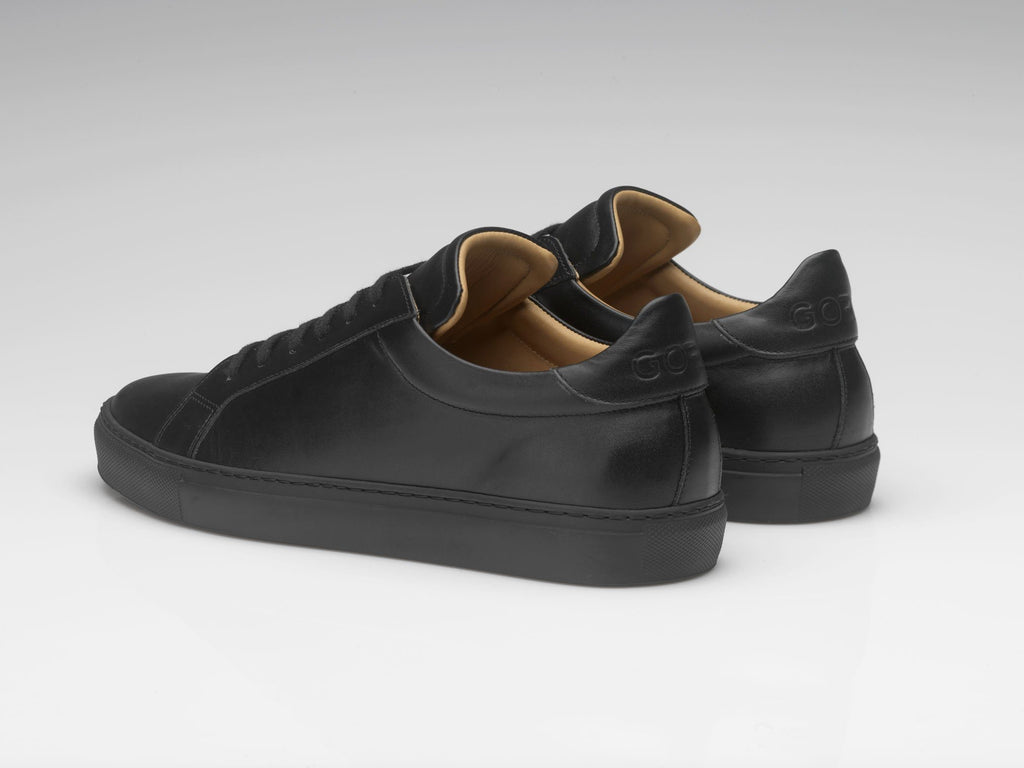 goral sneakers black leather