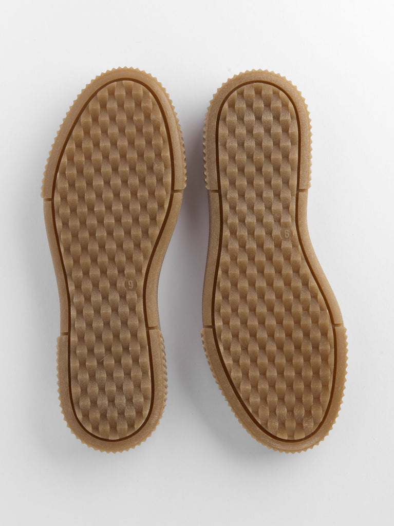 Natural rubber goral soles
