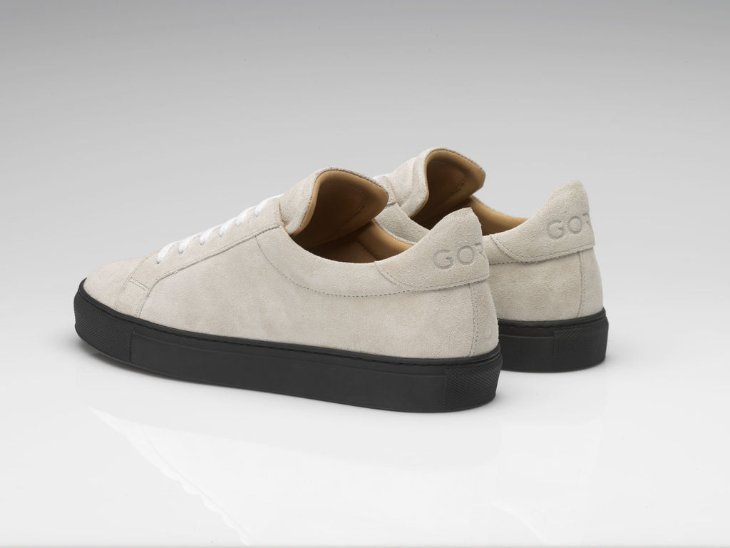 c1893f797ff mens off-white suede sneakers with black soles