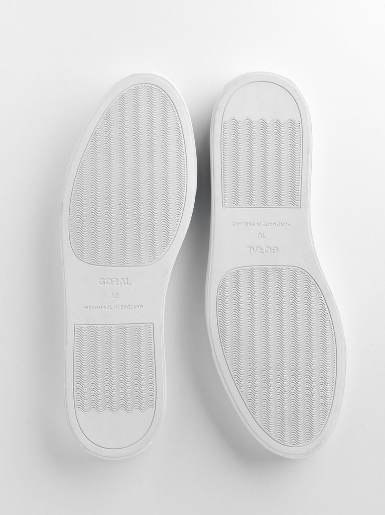 mens white rubber soles