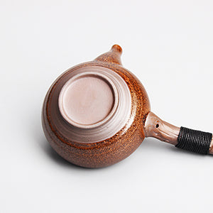 Handmade Retro Wood Side Handgrip Teapot - 260ml (five colours available) - The Teapot Store