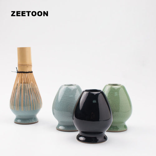 Zen Japanese Style Green Tea Whisk Holder (three colours available) - The Teapot Store