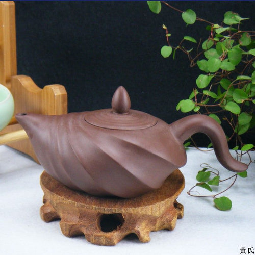 The Conch Ore Yixing Teapot - 150ml - The Teapot Store