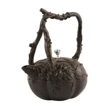 1.2L Creative Cast Iron Tetsubin Pumpkin Teapot (with/without Stove) - The Teapot Store