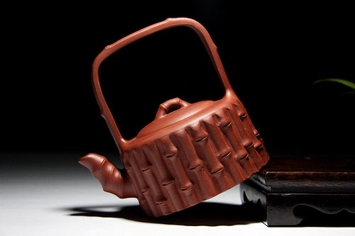 Unique Bamboo Girder Yixing Teapot - The Teapot Store