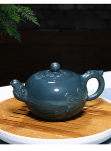 370ml Ruyi Round Beads Yixing Teapot - The Teapot Store