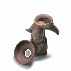 Ceramic Monk Handmade Tea Strainer - The Teapot Store