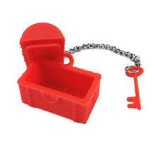 Silicone Treasure Chest Tea Infuser (two colours) - The Teapot Store