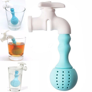 Silicone Running Water Tap Tea Infuser - The Teapot Store