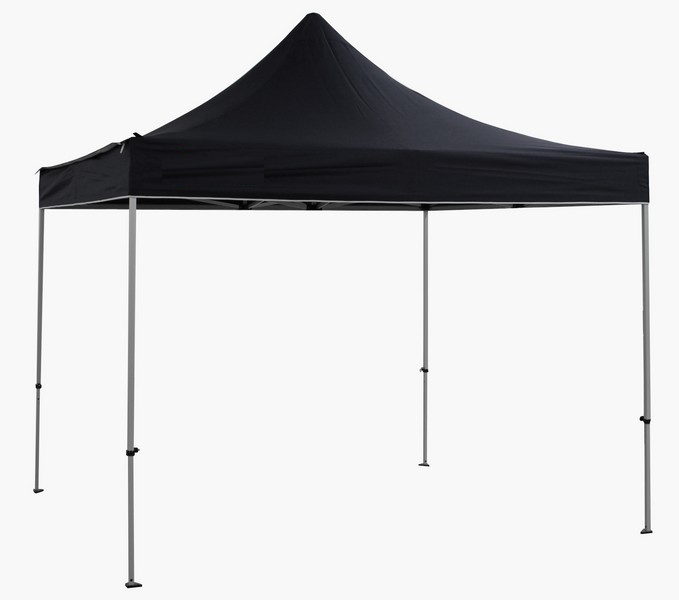 Gazebo NERO 3 x 3 professionale Alluminio 45 mm