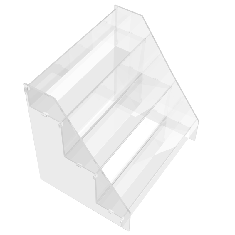 Espositore da Banco 3 Gradini Plexiglass - Top Eventi Store