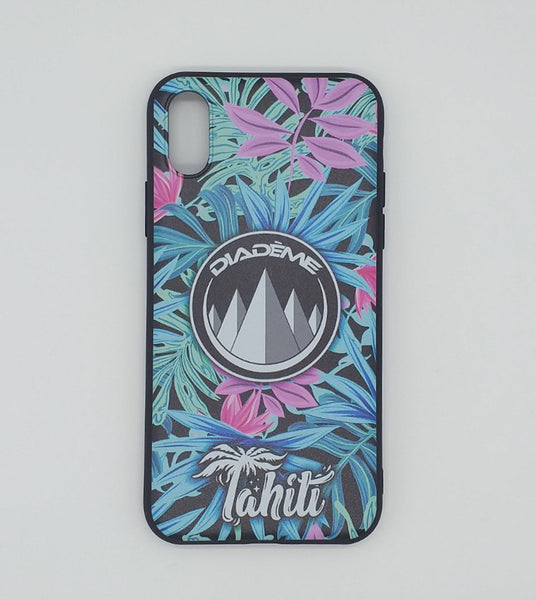 PHONE CASE BLUE FLORAL à 2.000 XPF