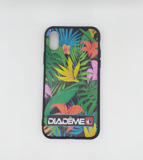 PHONE CASE GREEN FLORAL LEAF à 2.000 XPF