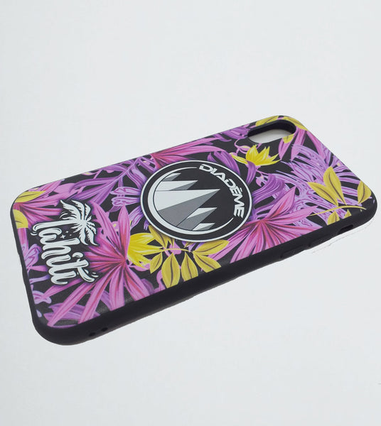 PHONE CASE PURPLE FLORAL à 2.000 XPF