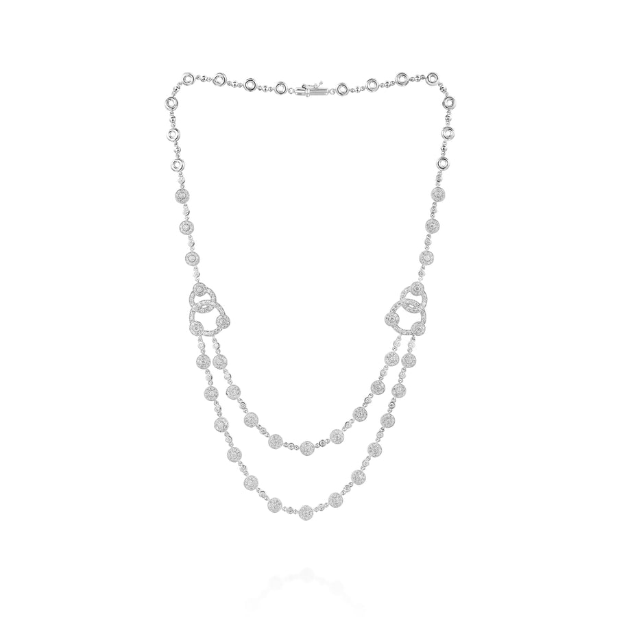 5,28 cart Diamond necklace - CTUB2910