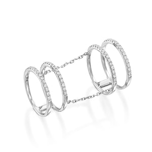 Knuckle Ring Full Finger Ring RNEJ13914
