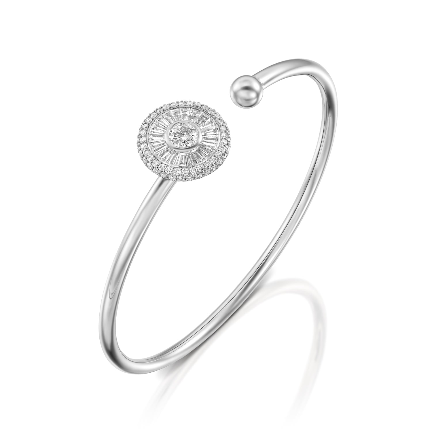 bangles bracelet bangle ninacci design diamond
