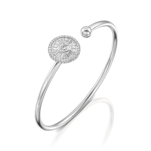 B2567-Diamond bangle bracelet Sun collection