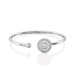 B2567-Diamond bangle bracelet Sun collection.