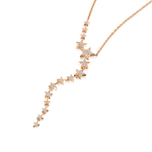 CSTAR-DN-Stars trails  necklace