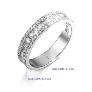 0.72 Carat Diamond eternity band