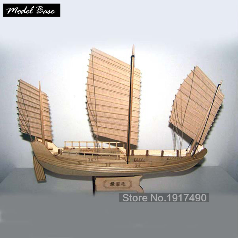 Scale 1/148 Chinese Antique Sailboat