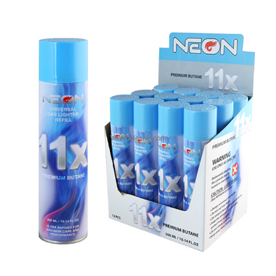 Neon 11x Refined Butane - The King of Vape