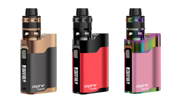 ASPIRE CYGNET 80W WITH REVVO TANK KIT - The King of Vape