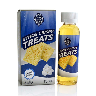 CRISPY TREATS MARSHMALLOW BY ETHOS - 60ML - The King of Vape