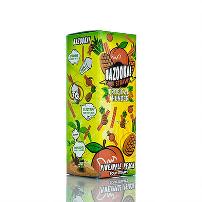 Pineapple Peach Sour Straws Tropical Thunder E juice by Bazooka - 100 ml - The King of Vape