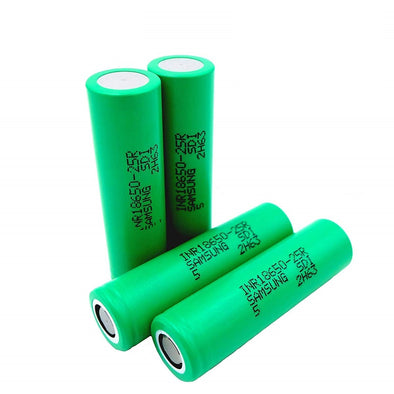 Samsung 25R 2500 mAh Rechargeable Battery