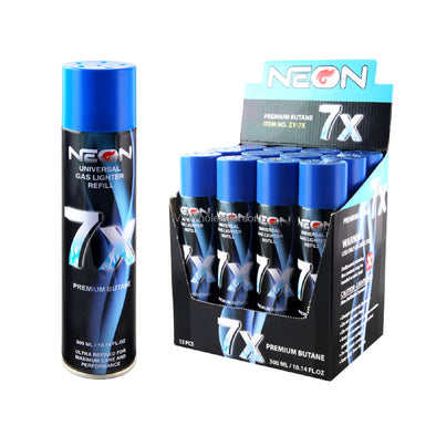 Neon 7x Refined Butane - The King of Vape
