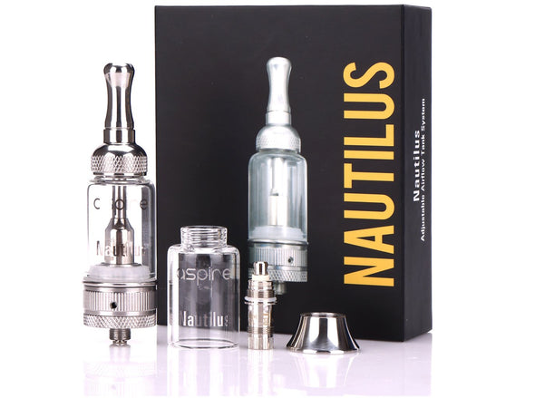 ASPIRE NAUTILUS ADJUSTABLE AIRFLOW TANK SYSTEM - The King of Vape