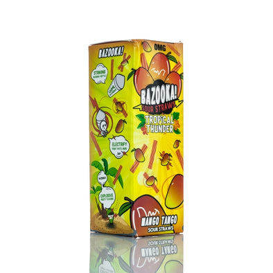 Mango Tango Sour Straws Tropical Thunder E juice by Bazooka - 100 ml - The King of Vape