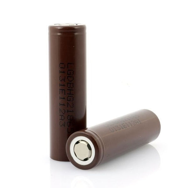 LG18650 HE2 2500mAh 20A 3.6v RECHARGEABLE FLAT TOP BATTERIES