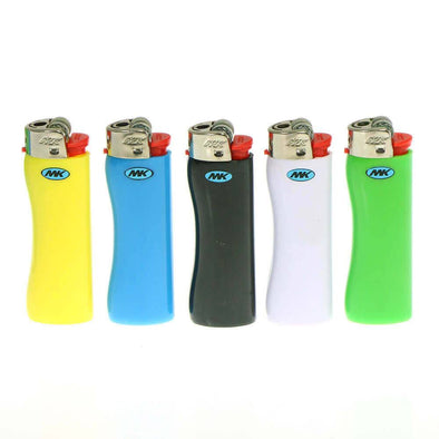 MK Grip Full Size Premium Disposable Lighters - The King of Vape