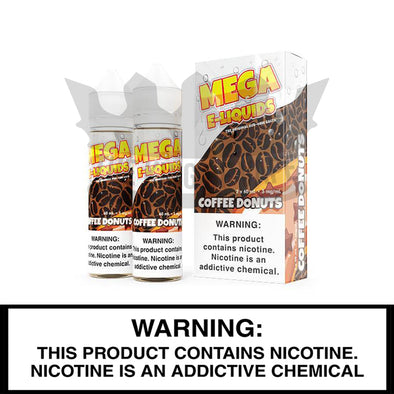 Patrol Coffee Donuts by Mega E-Liquids - 60ml - The King of Vape