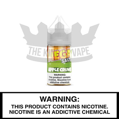 Apple Crumb Salt by Mega E-Liquids - 30ml - The King of Vape