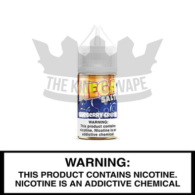 Blueberry Crumb Salt by Mega E-Liquids - 30ml - The King of Vape