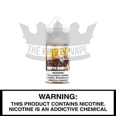 Partol Coffee Donuts Salt by Mega E-Liquids - 30ml - The King of Vape