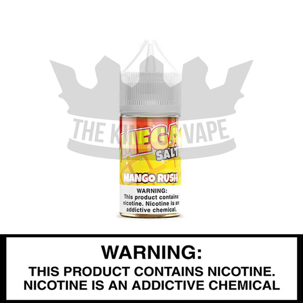 Mango Rush Salt by Mega E-Liquids - 30ml - The King of Vape
