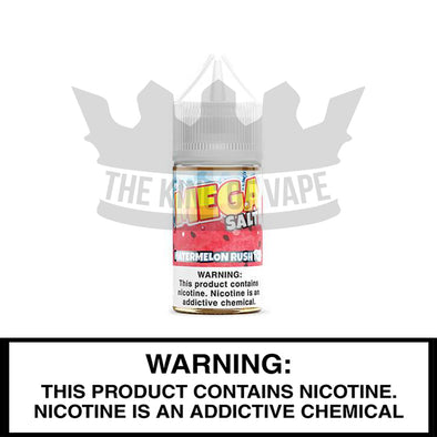 Watermelon Rush ICE Salt by Mega E-Liquids - 30ml - The King of Vape