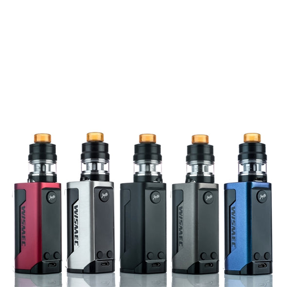 WISMEC REULEAUX RX GEN3 - BLACK - 300W STARTER KIT - The King of Vape