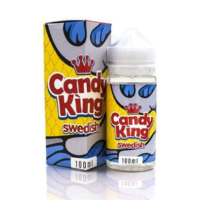 SWEDISH BY CANDY KING - 100ML - The King of Vape